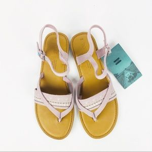 Toms Lexie Sandals Burnished Lilac Suede Size 8